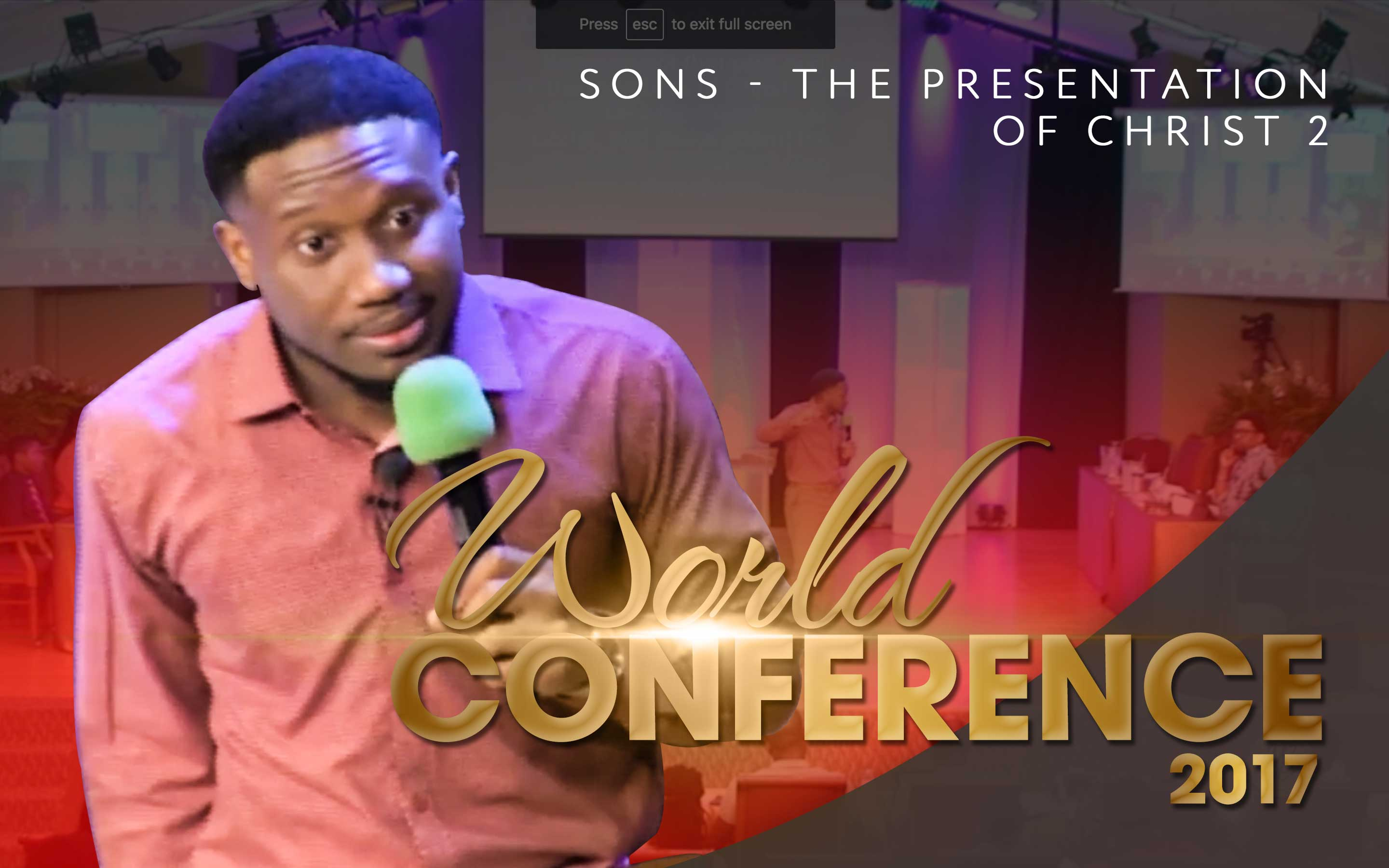 Sons – The Presentation of Christ 2